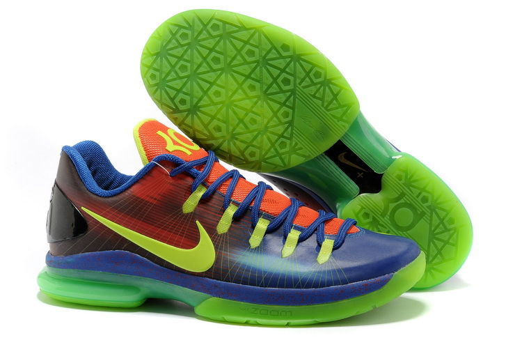 Nike Kevin Durant 5 Low Blue Green Red