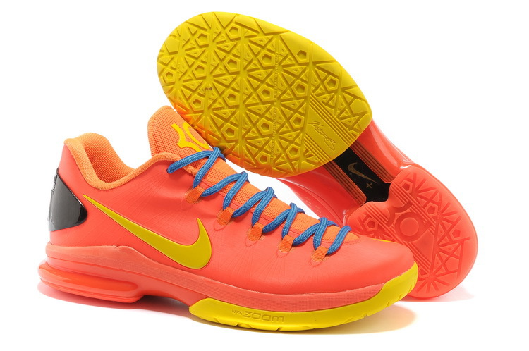 Nike Kevin Durant 5 Low Red Orange