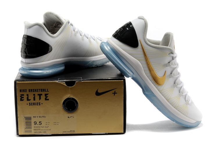 Kevin durant shoes low top white - photo#24