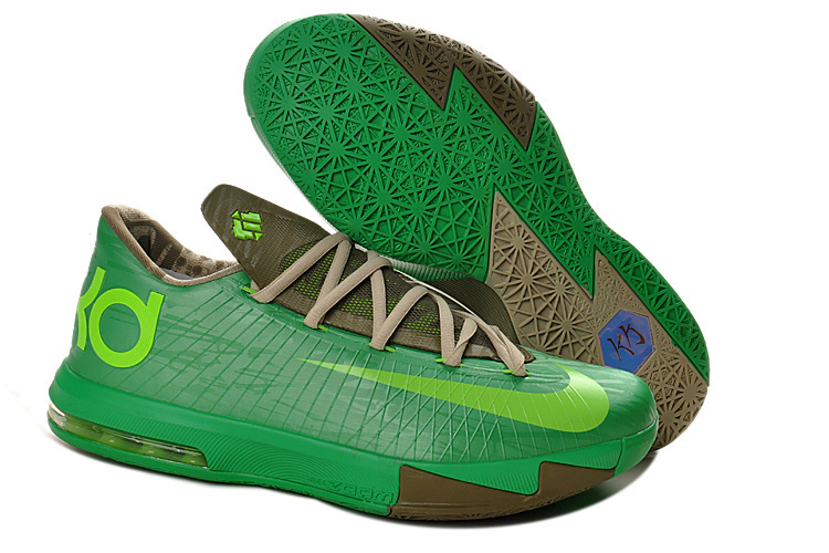 Women's Nike Kevin Durant 6 Green Shoes