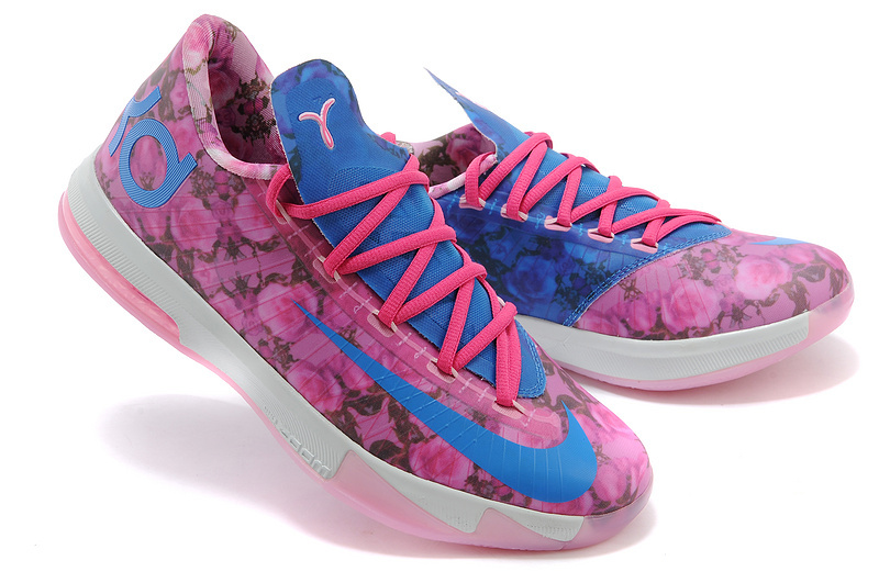 Women's Nike Kevin Durant 6 Rose Colorways Shoes