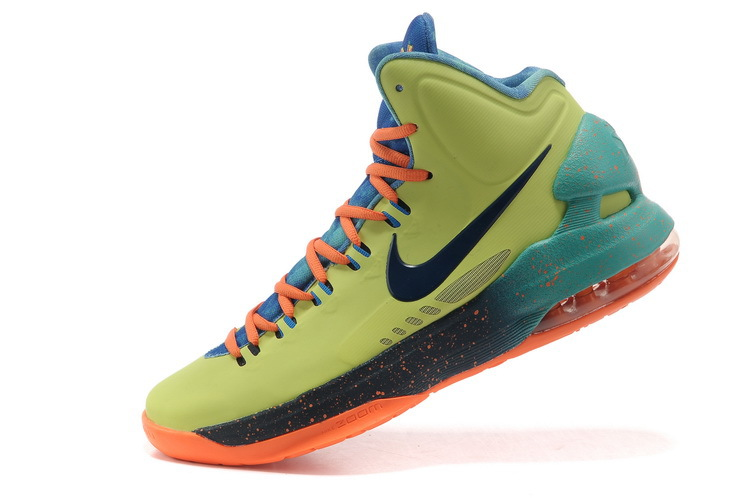 Nike KD 5 High All Star Orange Army