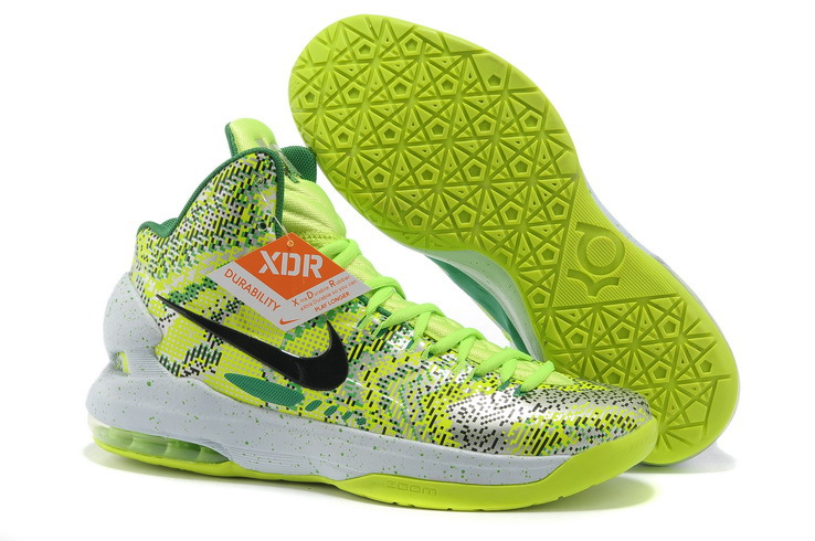 Nike KD 5 High All Star White Green