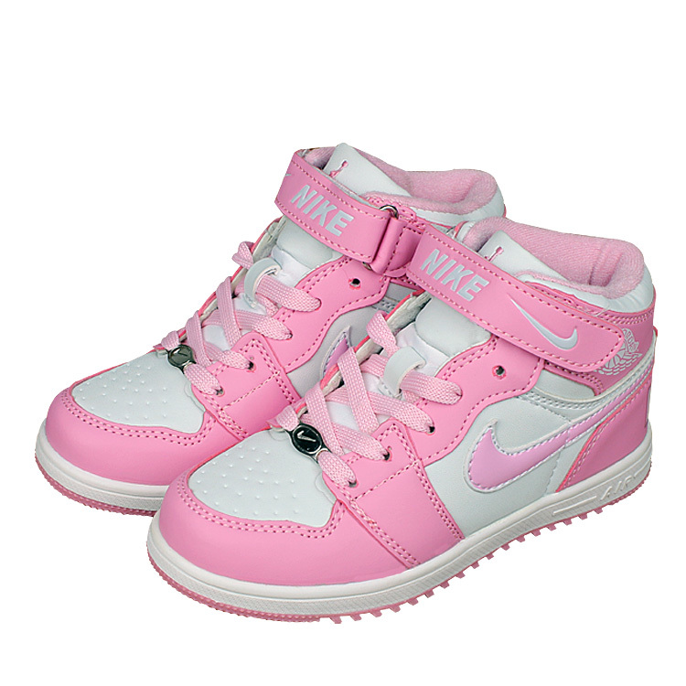 kids nike air force high pink white shoes kids72 50. Black Bedroom Furniture Sets. Home Design Ideas