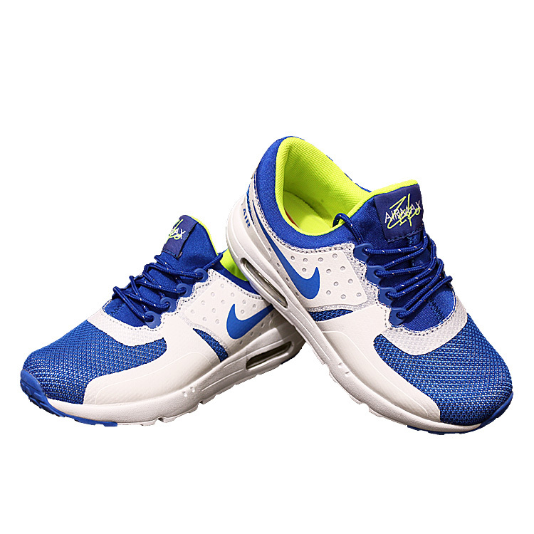 Kids Nike Air Max Zero 87 II Blue White Shoes