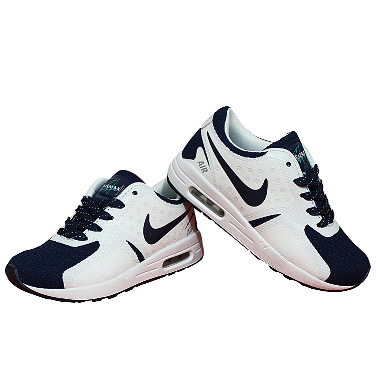 Kids Nike Air Max Zero 87 II Deep Blue White Shoes