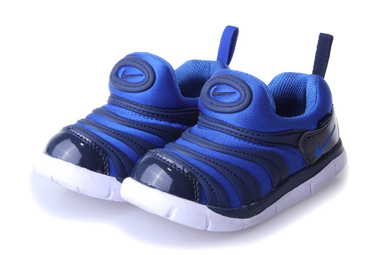Nike Dynamo Free Black Blue Shoes For Kids