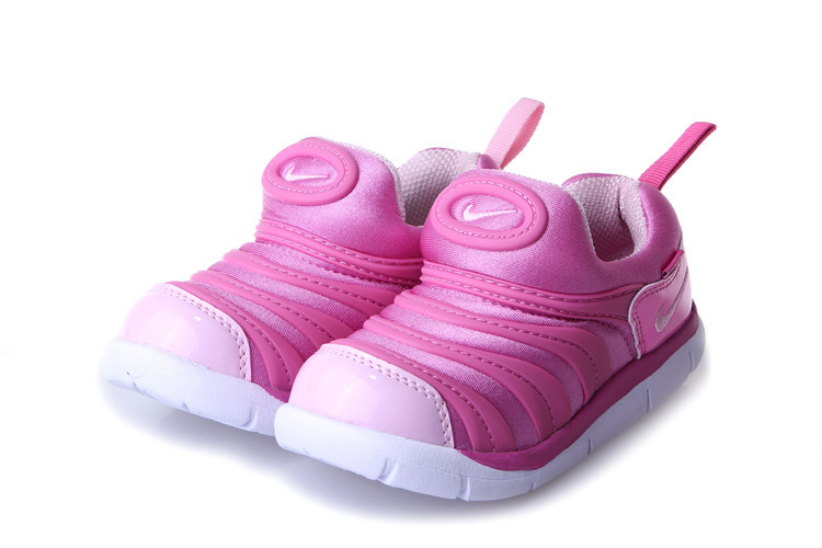 Nike Dynamo Free Pink White Shoes For Kids