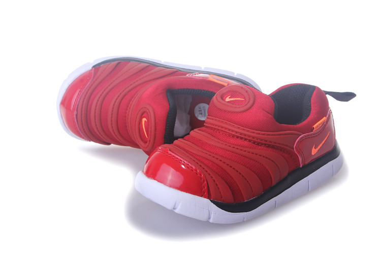 Nike Dynamo Free Red White Shoes For Kids
