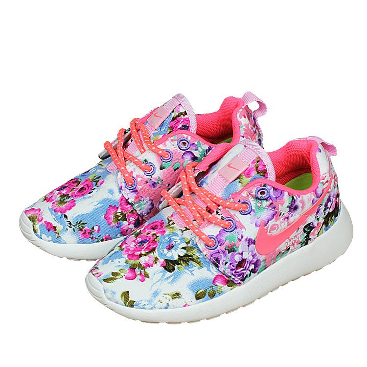 Kids Nike Roshe Run Colorful Shoes