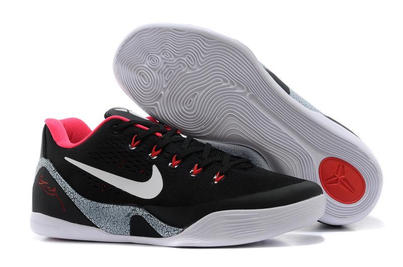 Nike Kobe Bryant 9 Low Black Pink White Shoes