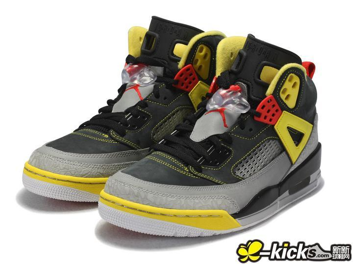 New Nike Air Jordan 3.5 Black Grey Yellow Red Shoes