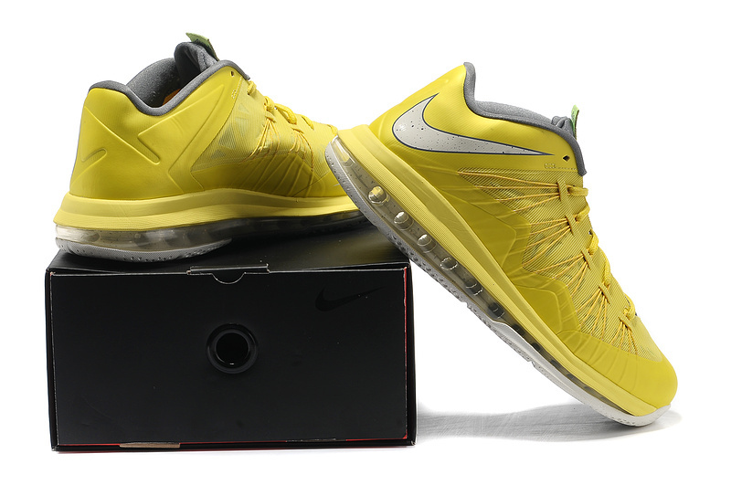 48046ffca2150 Light Nike Lebron James 10 Shoes Low Low Yellow White On Discount Sale