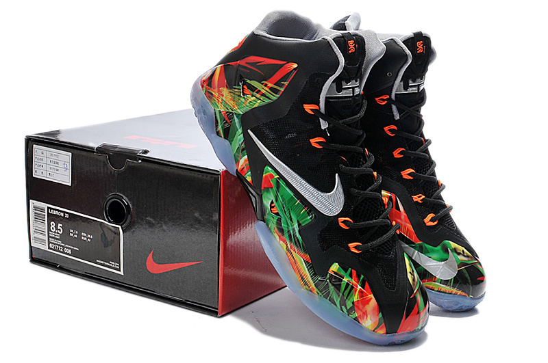 Latest Popular Lebron James 11 Neon Light Edition Shoes