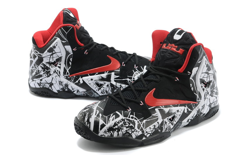 Lebron James 11 Scrawl Edition Black Red