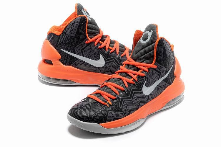 Kevin Durant 5 Shoes High Blue Green Orange