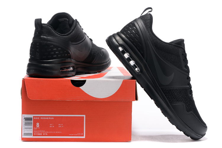 2016 Women Nike Air SB All Black Running