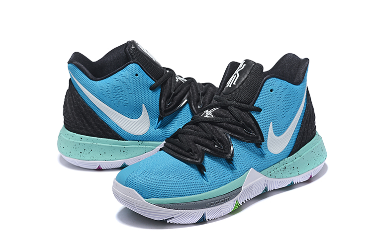 Nike Kyrie Irving 5 Jade Blue Black White Shoes