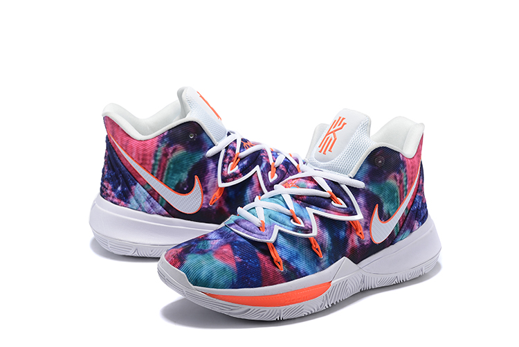 Nike Kyrie Irving 5 Stars Print Colorful Shoes