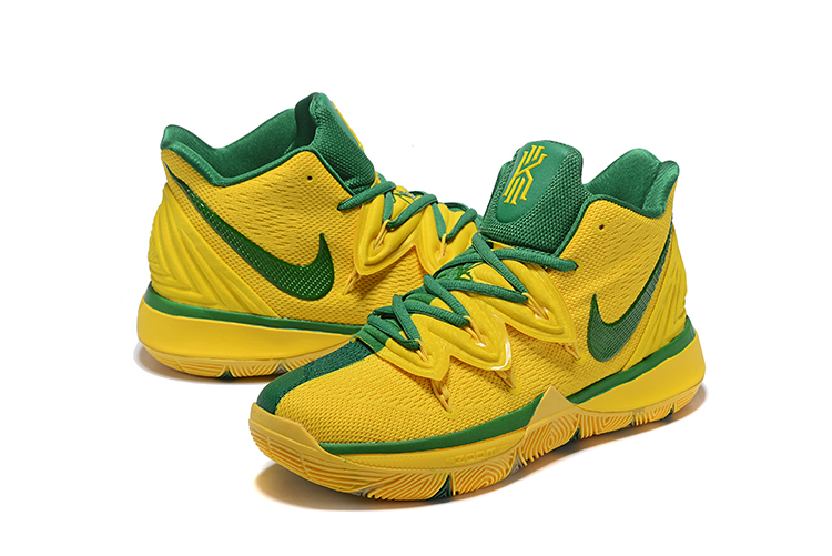 Nike Kyrie Irving 5 Yellow Green Shoes