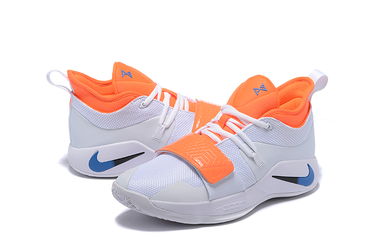 Nike Paul George 2.5 White Orange Blue