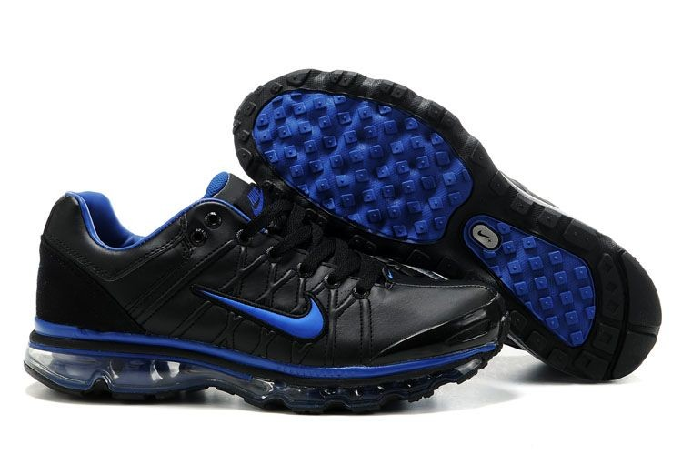 Mens Nike Air Max 2009 Black Blue