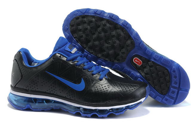 Mens Nike Air Max 2011 Black Navy Shoes Online