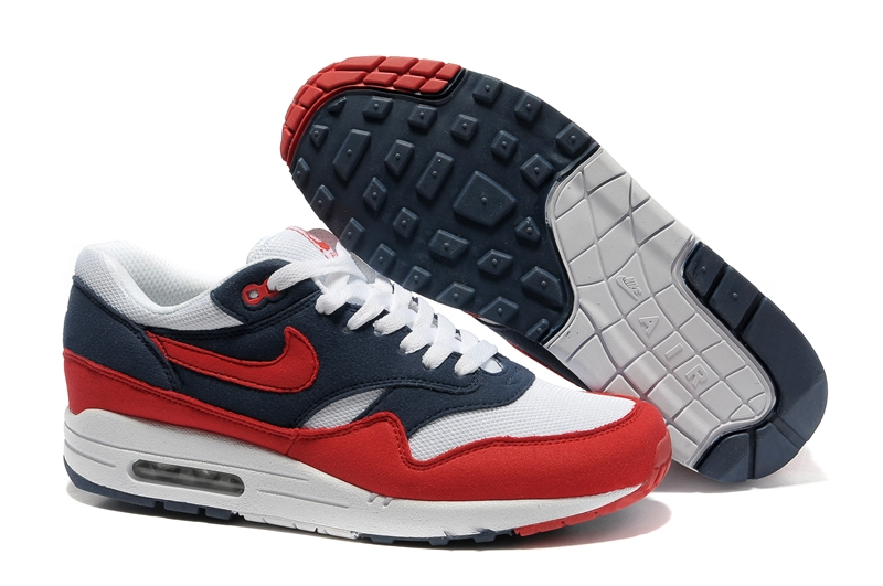 air max red white and blue