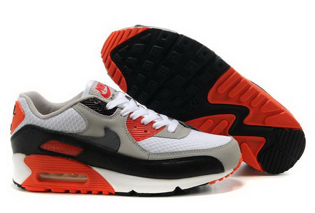 Mens Nike Air Max 90 Premium Infrared Shoes