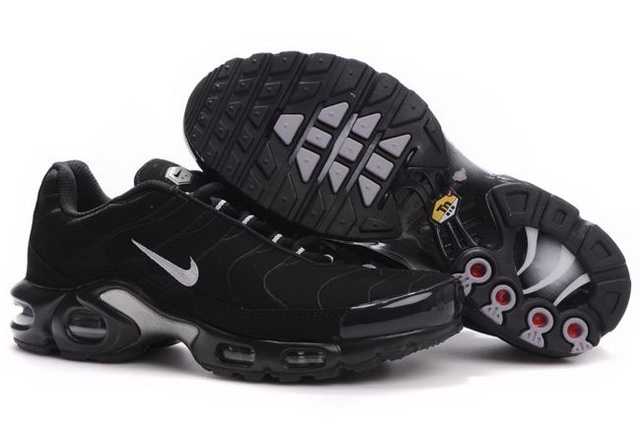 Mens Nike Air Max TN 2010 Black Grey Shoes