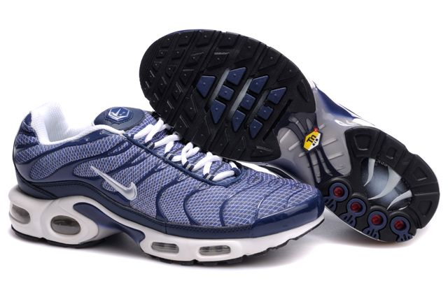 Mens Nike Air Max TN 2010 Navy White Shoes