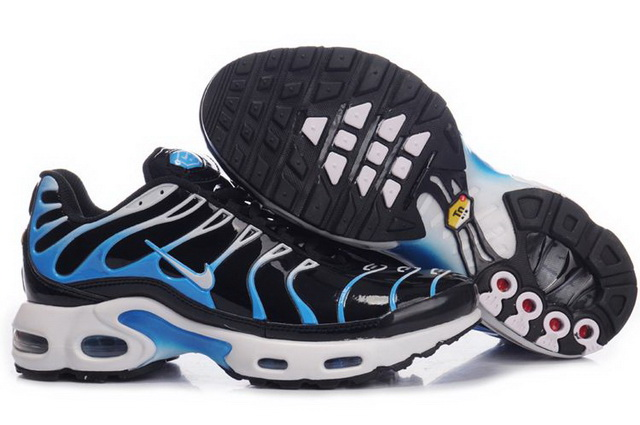 Mens Nike Air Max TN Black Blue Grey Shoes