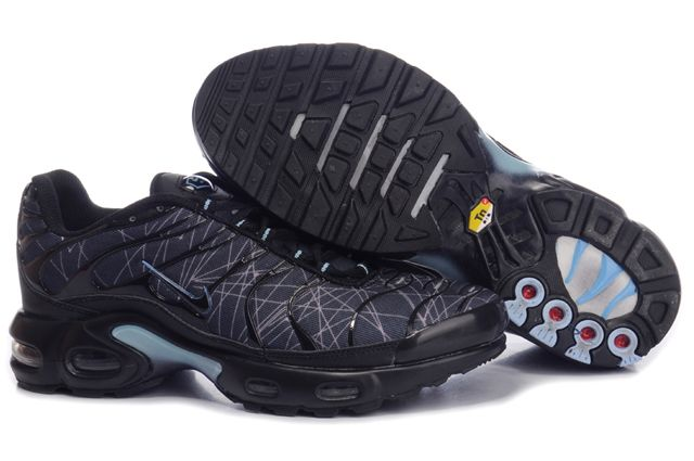 Mens Nike Air Max TN Black Navy Shoes