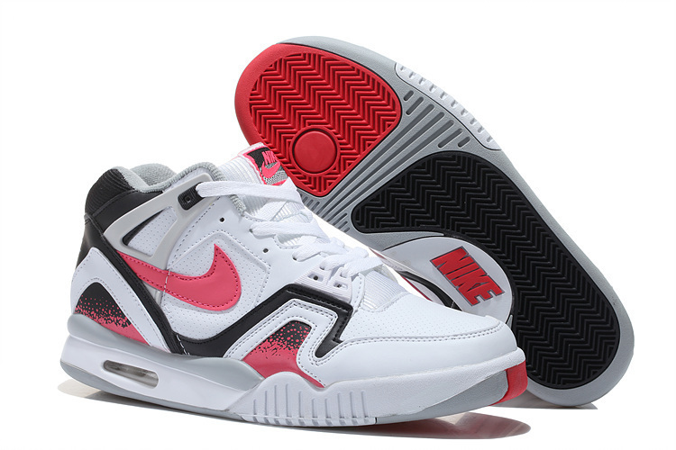 NIKE Airtech Chaiienge II White Black Red Shoes