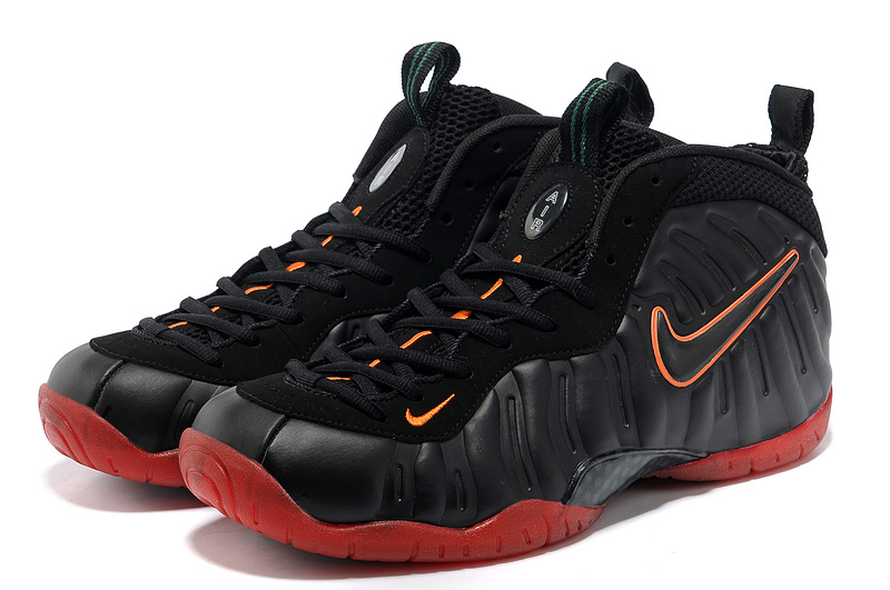 Air Foamposite One Shooting Stars Black Red Shoes