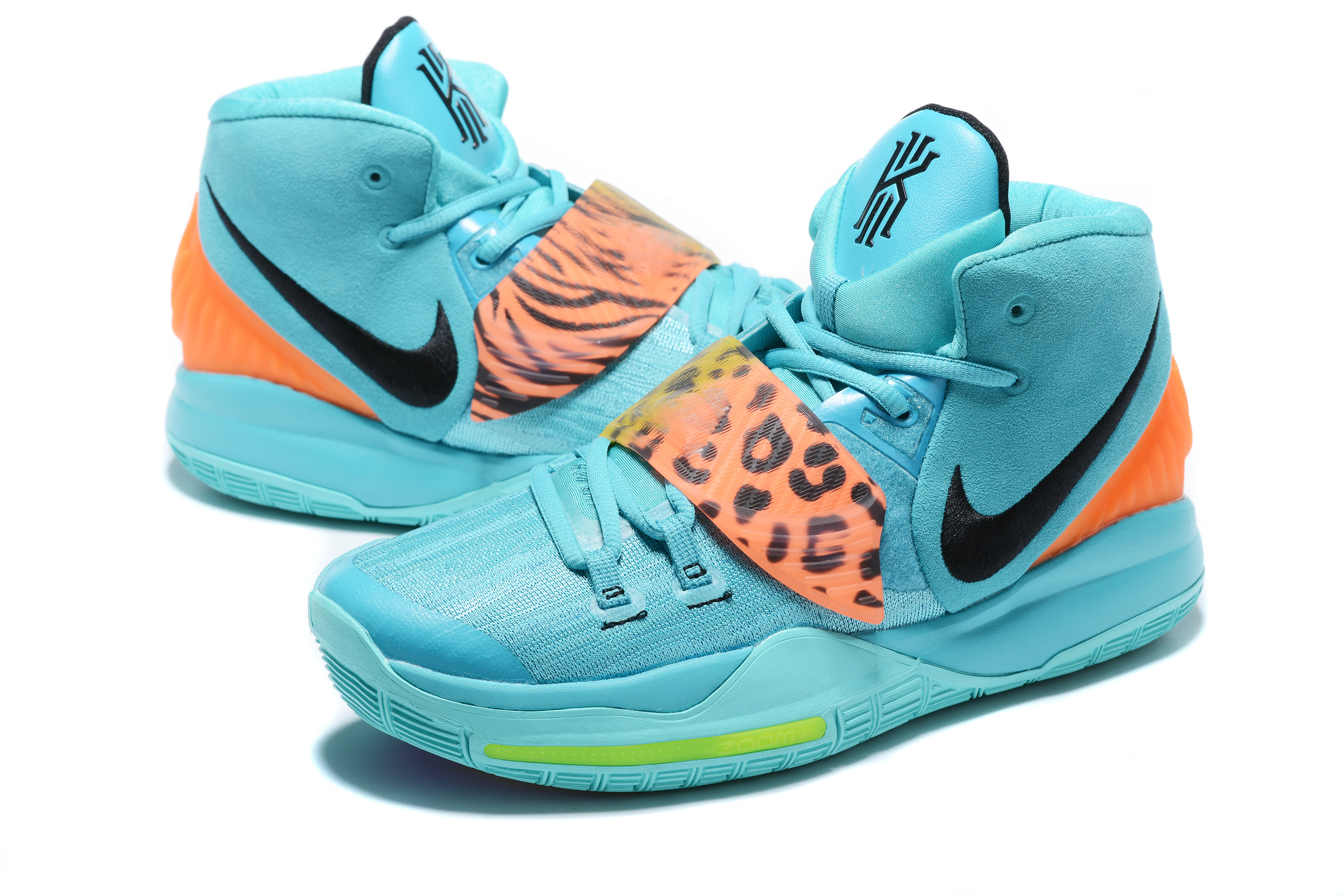 2020 Nike Kyrie Irving VI Jade Blue Orange