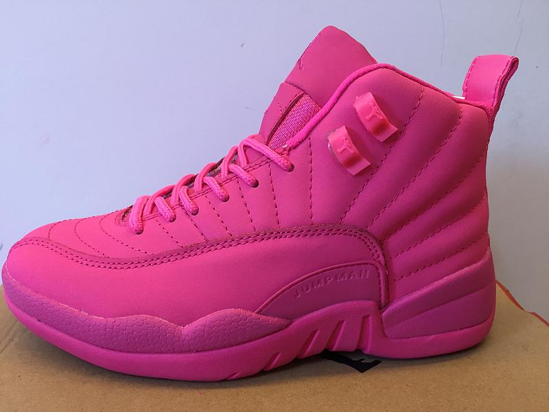 2016 Nike Air Jordan 12 GS All Pink