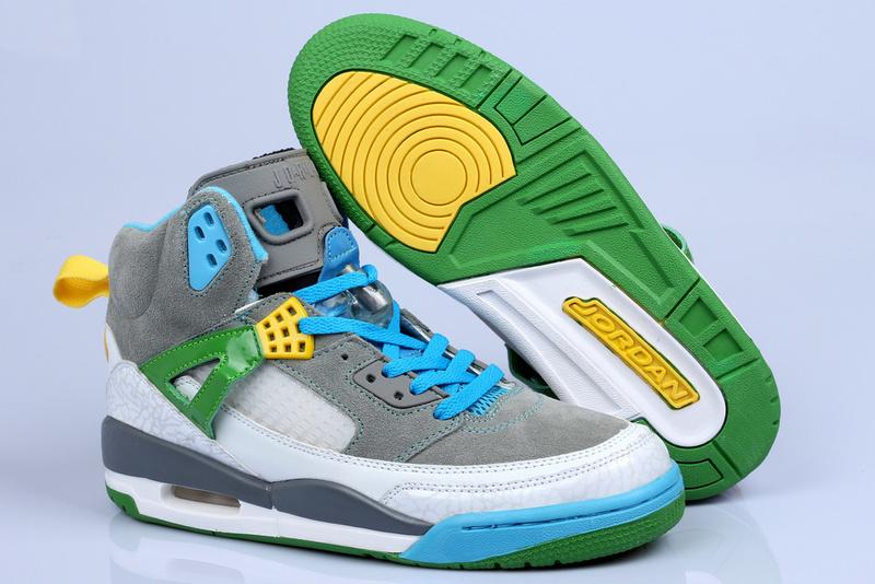8849ceeaf79521 Nike Air Jordan 3.5 Suede Grey White Green Shoes