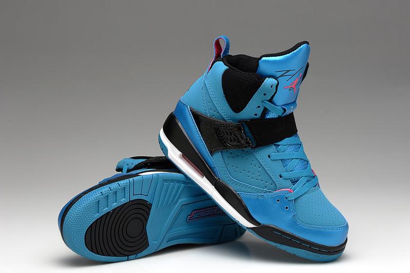 Air Jordan Flight 4.5 Blue Black For Women