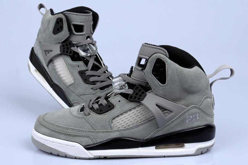 Nike Jordan 3.5 Suede Grey Black White Shoes