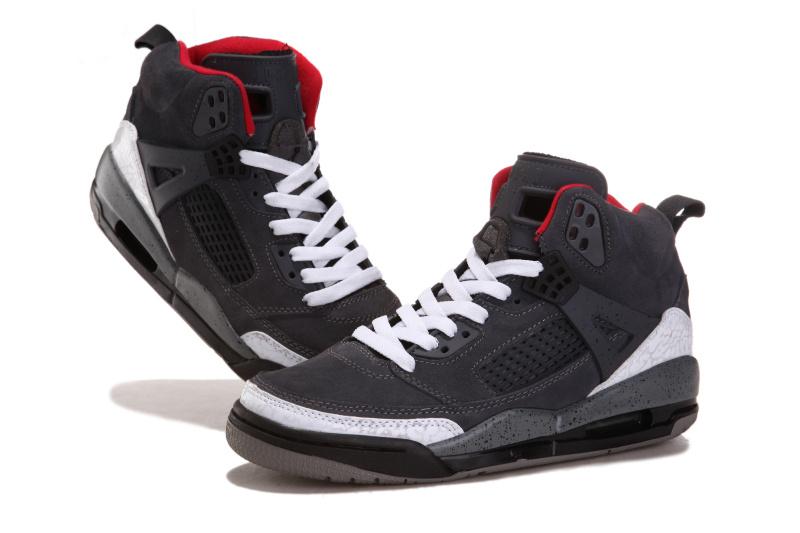 Nike Jordan 3.5 Suede Grey White Black Red Shoes