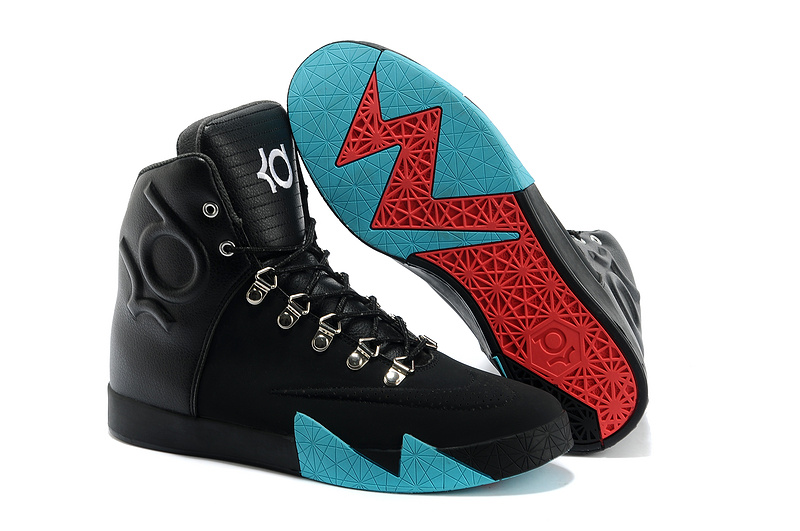 Nike Kevin Durant 6 NSW Lifestyle Black Blue Shoes