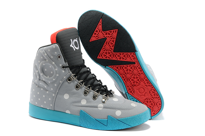 Nike Kevin Durant 6 NSW Lifestyle Grey Black Blue Shoes