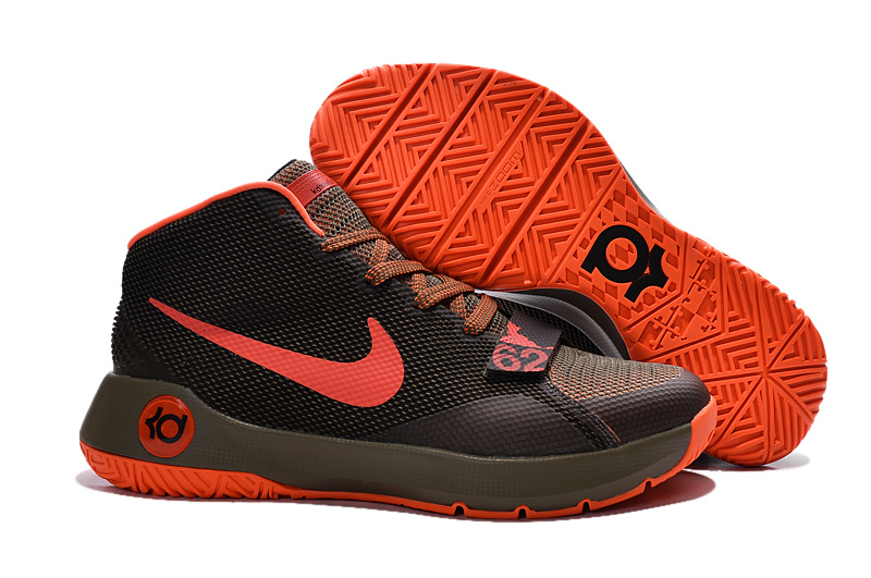 New Kevin Durant 8 Simple Coffe Red Shoes