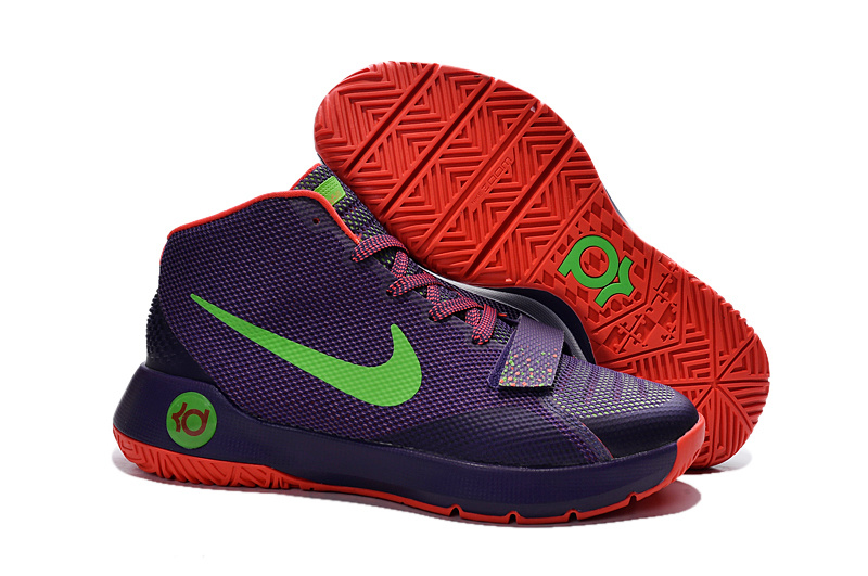 New Kevin Durant 8 Simple Purple Green Red Shoes