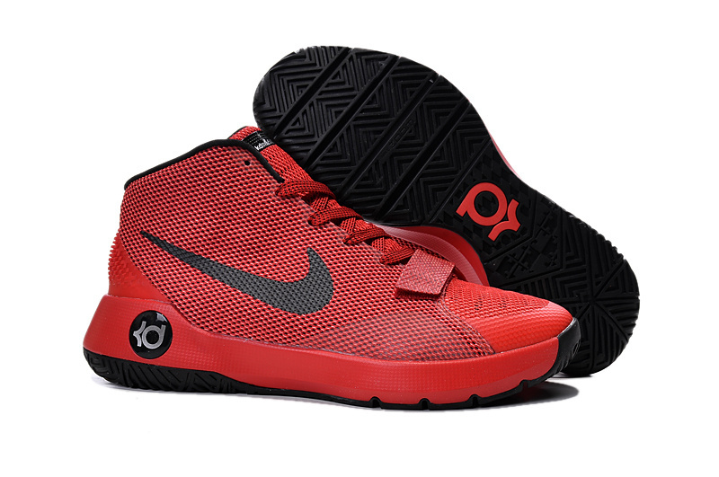 New Kevin Durant 8 Simple Red Black Shoes