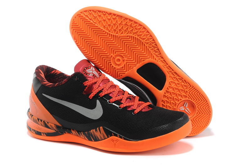 Latest Nike Kobe Bryant 8 Black Orange Shoes