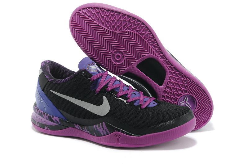 Latest Nike Kobe Bryant 8 Black Purple Shoes