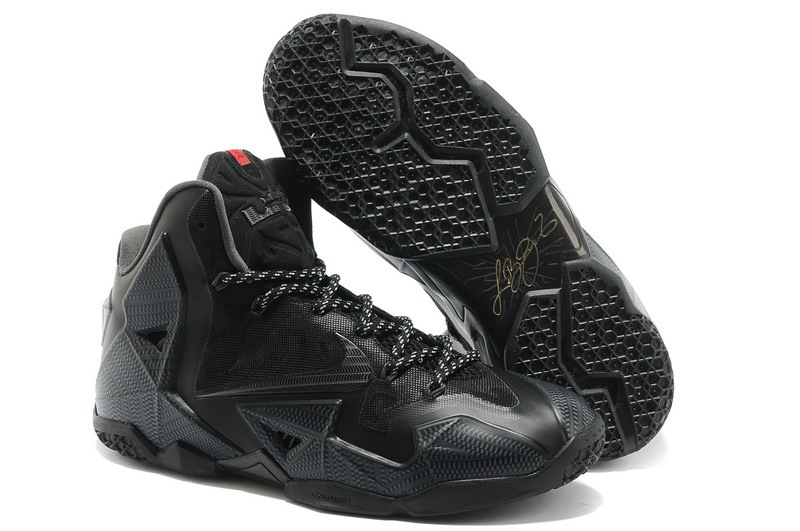 Discount Nike Lebron James 11 Shoes All Black