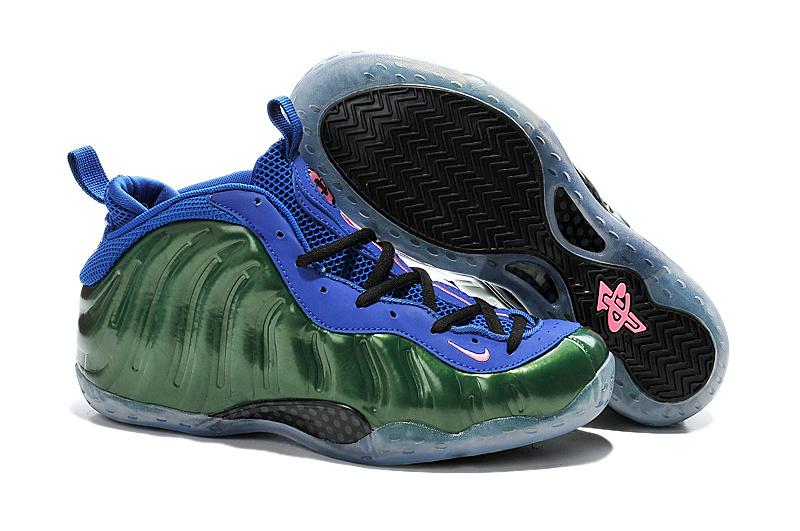New Nike Air Foam Penny Hardaway Green Blue Shoes